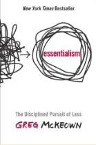 Essentialism book Greg Mckeown